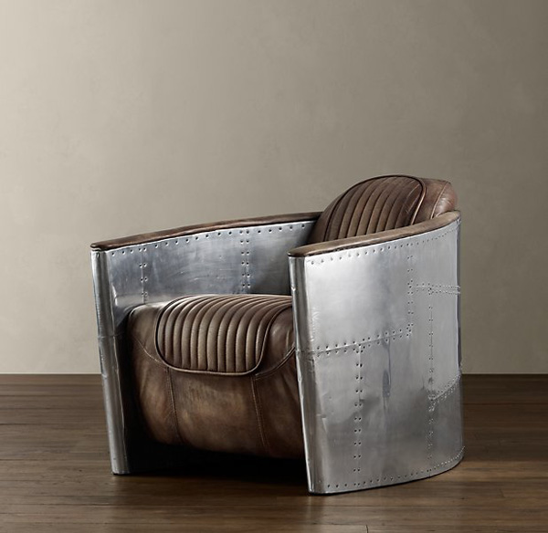 Luxury Aviator Furniture Collection By Restoration Hardware