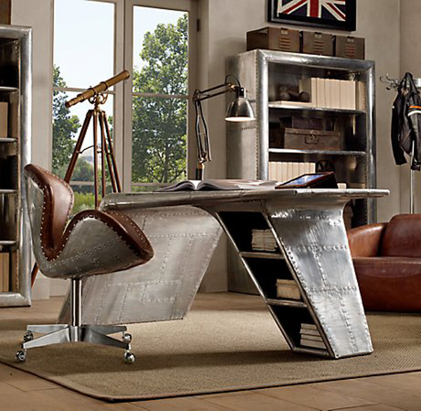 aviator furniture collection by restoration hardware extravaganzi
