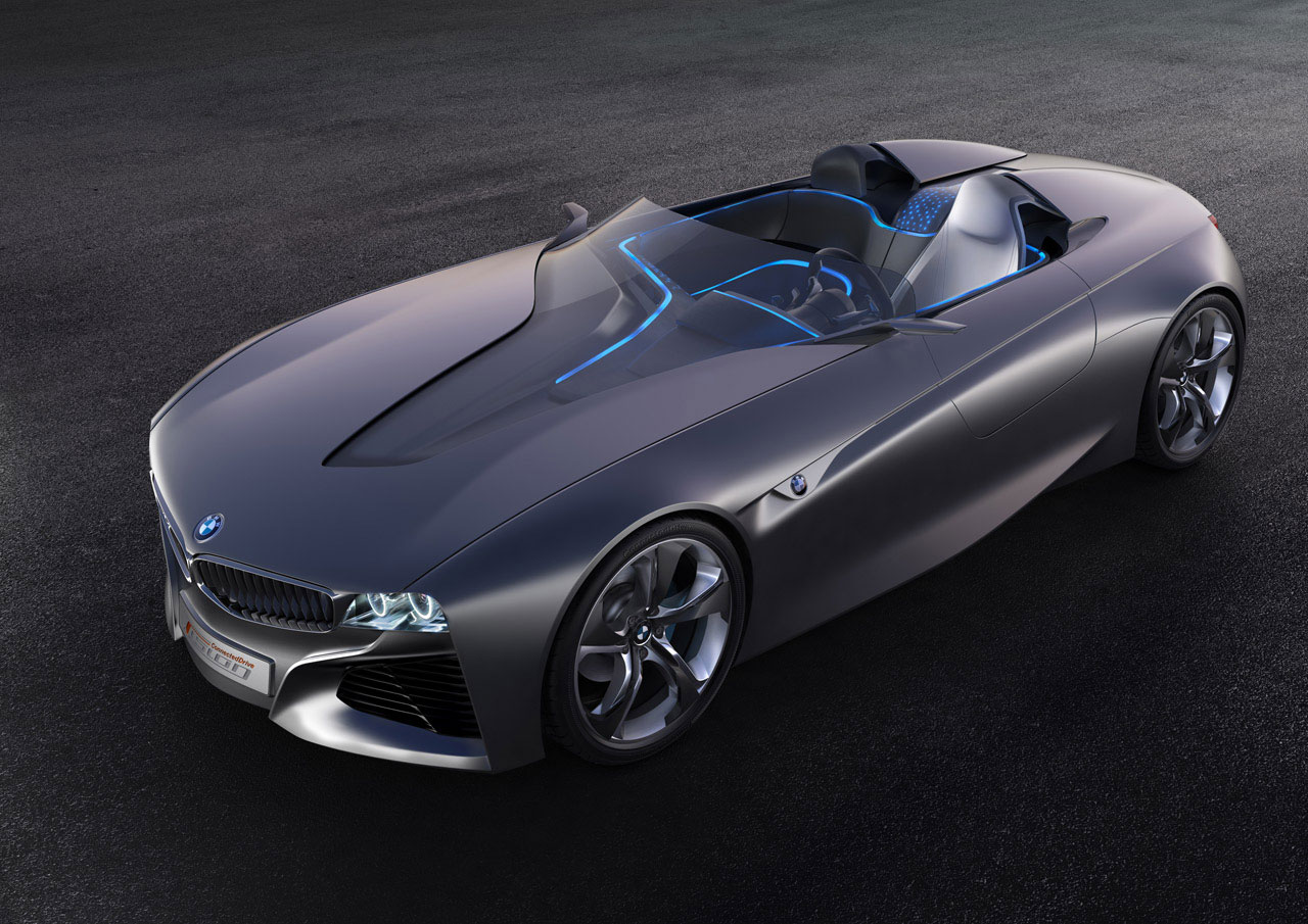 bmw vision connecteddrive an extraordinary concept vehicle extravaganzi. Black Bedroom Furniture Sets. Home Design Ideas