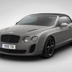 Bentley Supersports Ice Speed Record Convertible Debuts at geneva Show