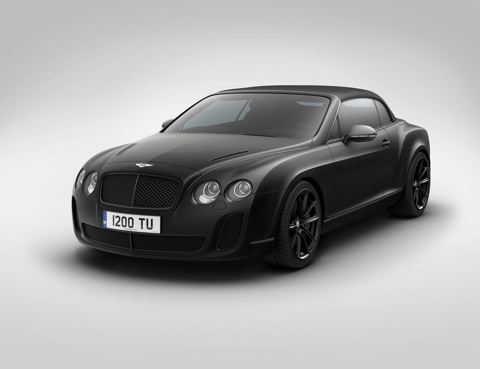 Bentley Supersports Ice Speed