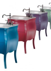 Bon Bon by Ypsilon – Candy Colored Small Bathroom Vanity