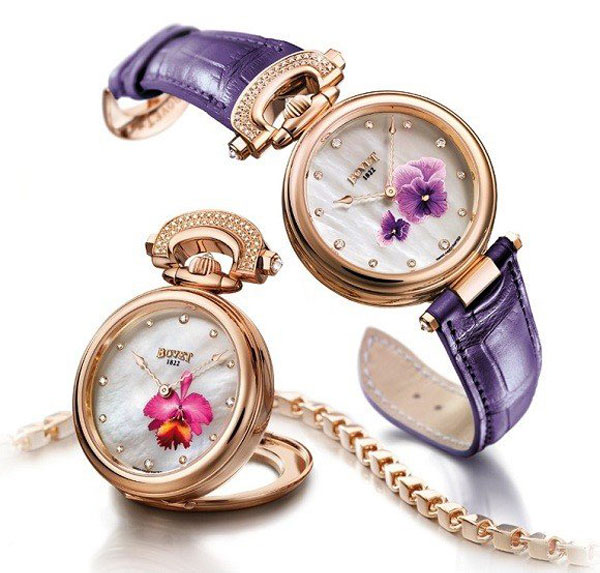 Bovet Amadeo Mille Fleurs Convertible Watch
