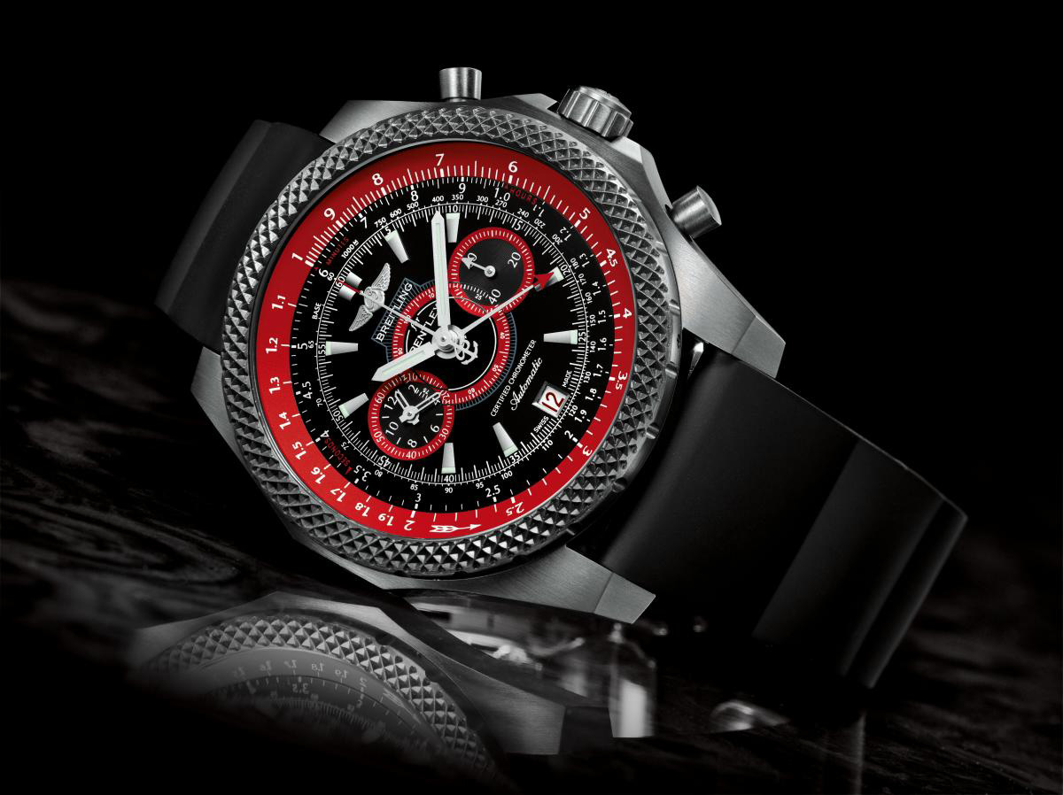Limited Edition Breitling for Bentley Supersport Light Body Chronograph Watch