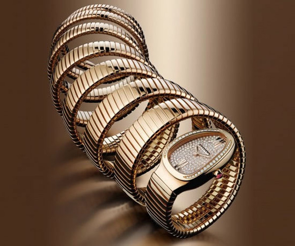Bulgari Serpenti 7 Coil Watch Wraps Your Arm