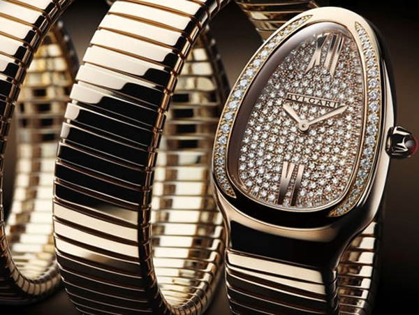 Bulgari Serpenti 7 Coil Watch