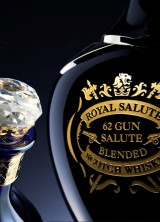 Chivas Brothers 62 Gun Salute Whisky Crowned With A 24 Carat Gold