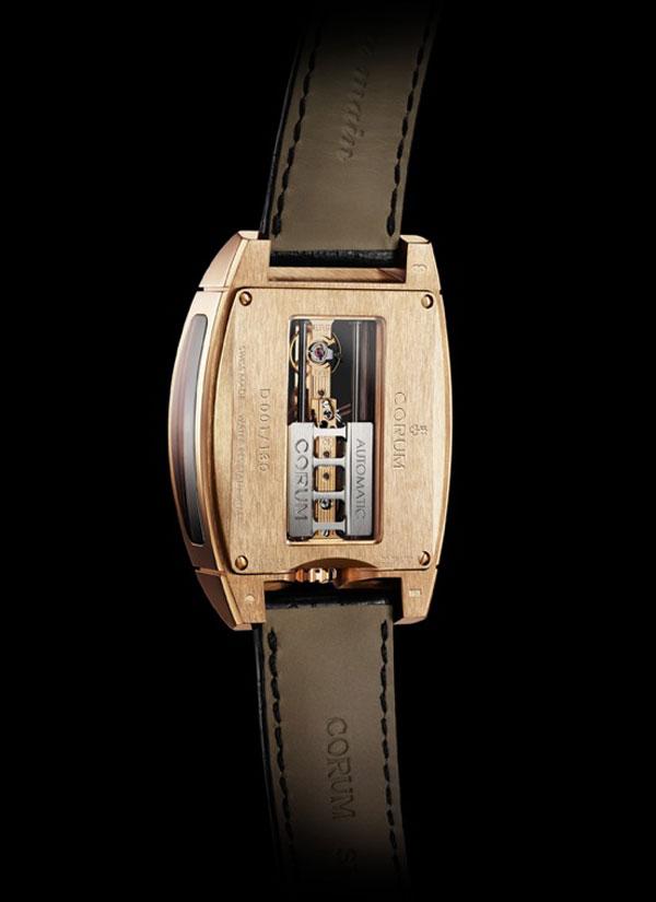 Limited Edition Corum Golden Bridge Automatic Watch