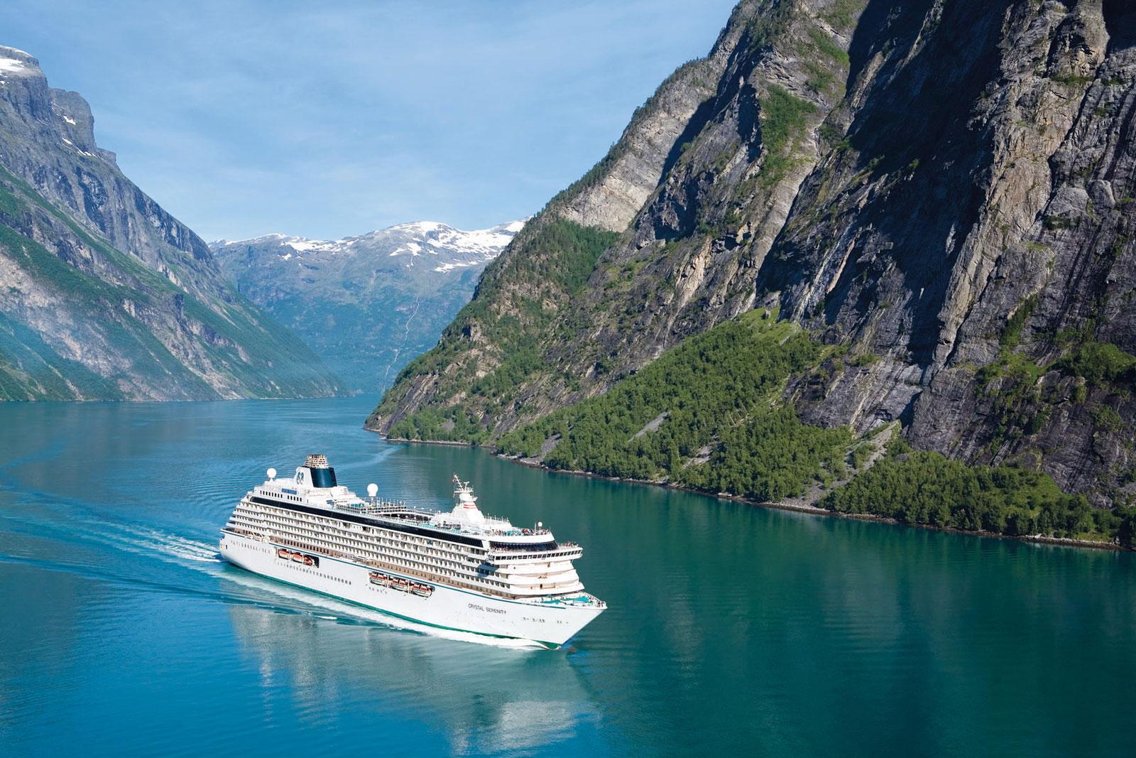 Crystal Cruises Serenity Ship
