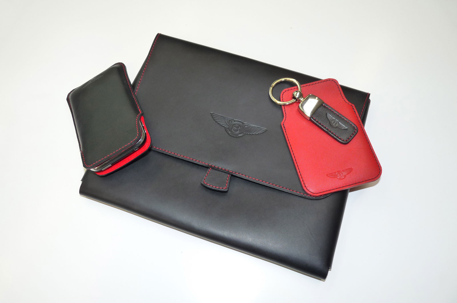 Ettinger for Bentley - iPad Case, iPhone Case, BlackBerry Case and Capped Key Ring