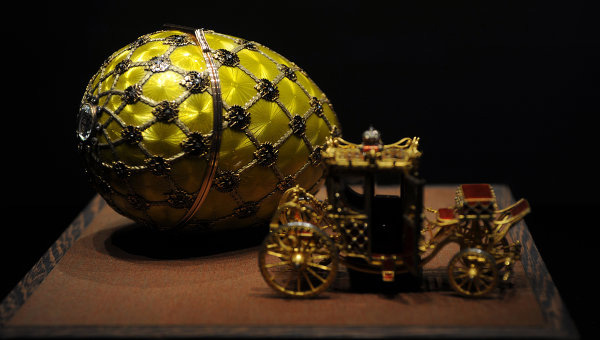 Viktor Vekselberg&#8217;s Faberge Eggs Go To Exhibition To The Vatican