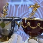 Faberge Soccer Tribute Eggs up for Auction