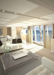 Ferretti Custom Line Unveil Navetta 33 Crescendo Yacht