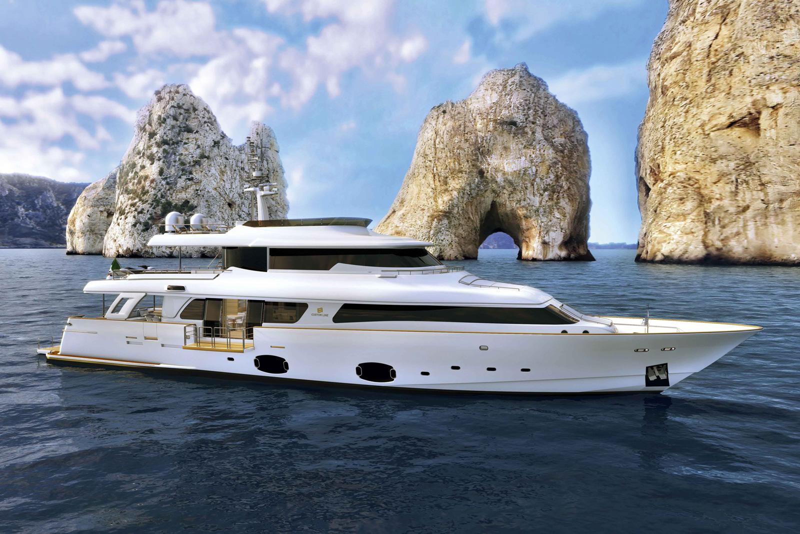 Ferretti Navetta 33 Crescendo Superyacht
