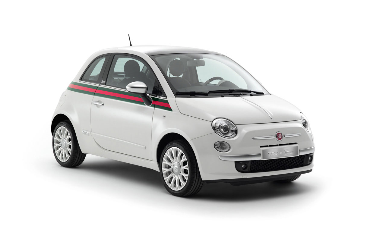 fiat 500 by gucci will be presented at 2011 geneva auto show extravaganzi. Black Bedroom Furniture Sets. Home Design Ideas