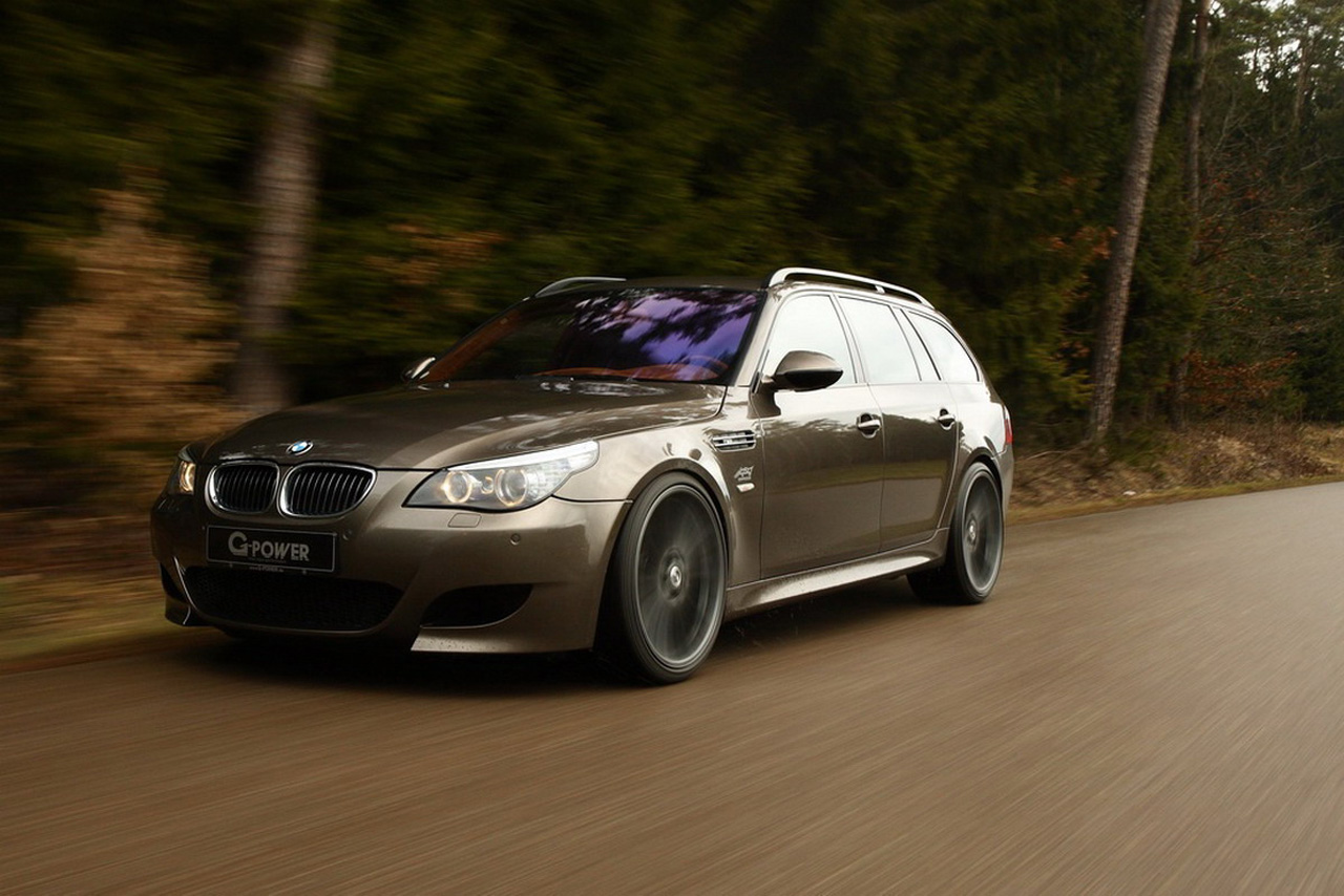 G Power Hurricane RS BMW M5 Touring