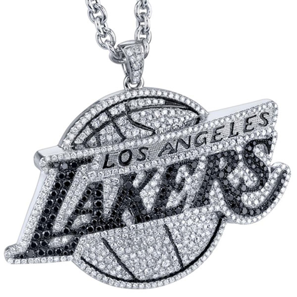 Gameplan NBA Diamond Jewelry LA Lakers