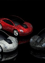 Swarovski Crystal Wireless Mouse by Goldgenie for Geeky Bling Lovers