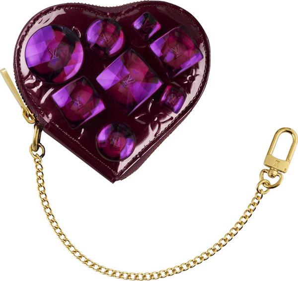 Louis Vuitton Heart Coin Purse Bijoux