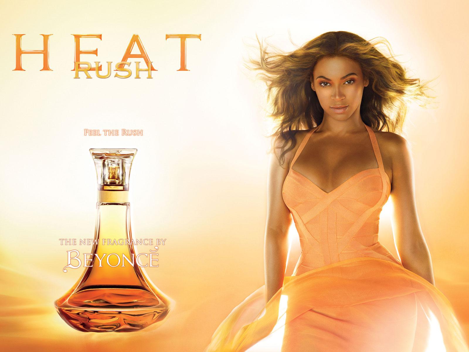 Beyonce's Heat Rush Perfume