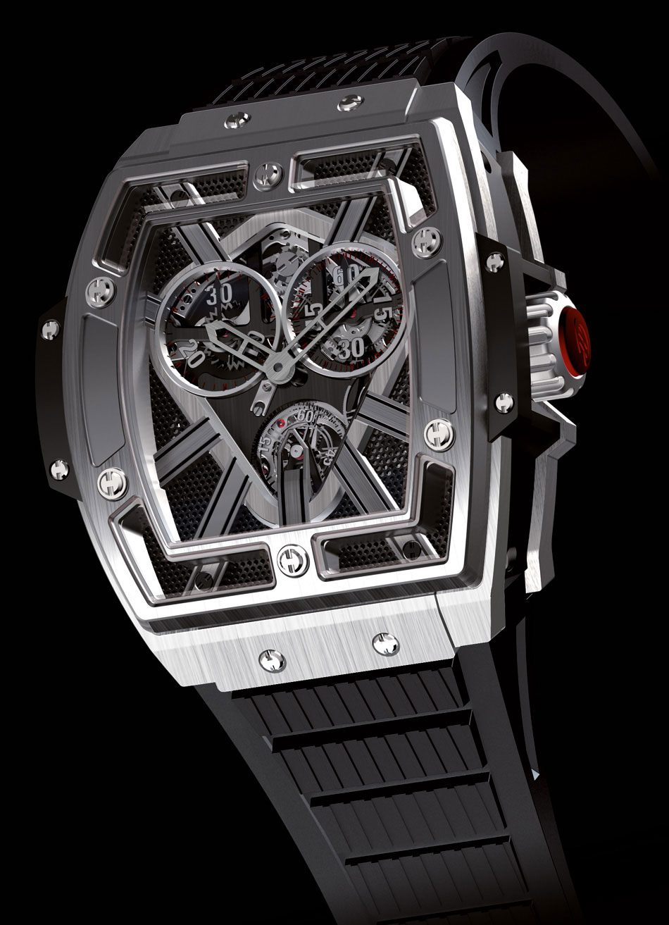 Hublot Masterpiece MP-01 Collection &#8211; First Hublot Barrel-shaped Watch