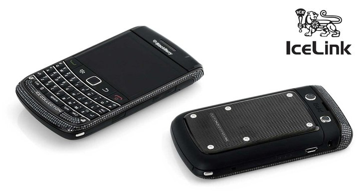 IceLink's Limited Edition BlackBerry Bold 9700