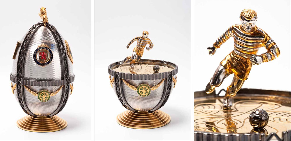 Jimmy Johnstone's Faberge Tribute Egg