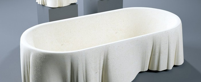 Lapicida's Limestone Bathtub Inspired By Palladio
