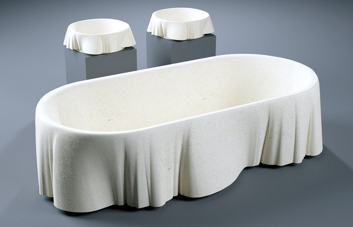 Lapicida&#8217;s Limestone Bathtub Inspired By Palladio