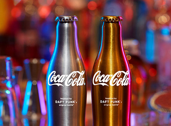 Daft Punk Teams with Coca-Cola For Club Coke