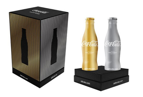 Limited Edition Daft Punk Coca Cola - Club Coke 2011