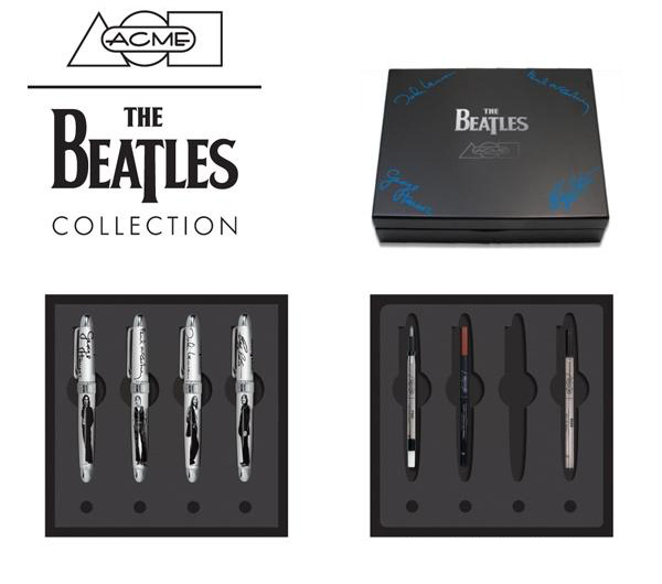 Limited Edition The Beatles Pens by Acme Studio