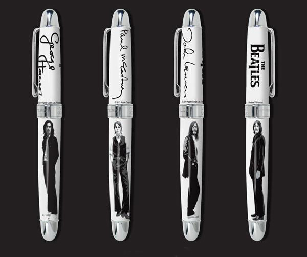 One Pen For Each Beatles &#8211; Limited Edition The Beatles Pens