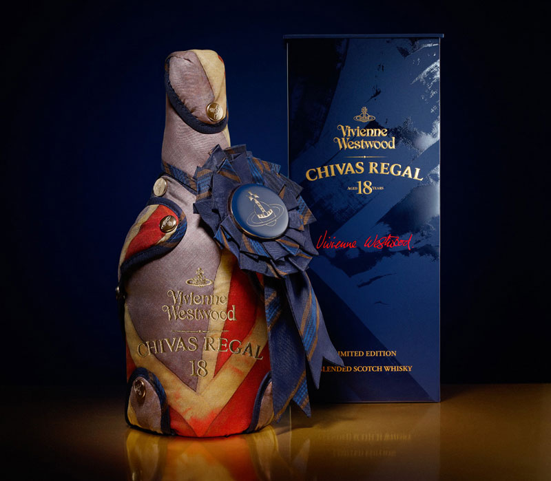 Limited Edition Vivienne Westwood Chivas Regal 18 Whisky