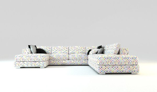 louis vuitton - limited edition collection of sofas