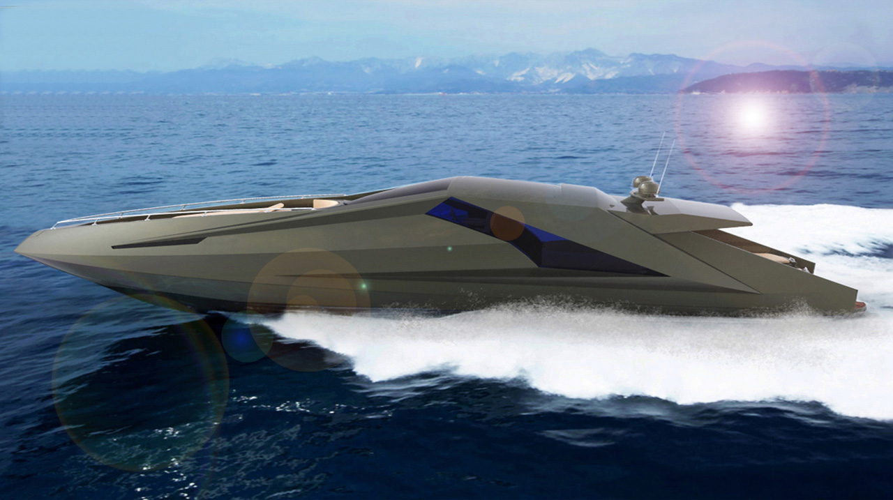 The Lamborghini On The Water Motoryacht By Mauro Lecchi