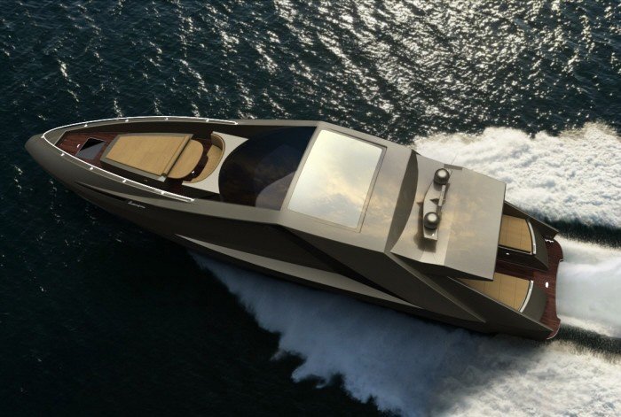 The Lamborghini On The Water &#8211; Motoryacht By Mauro Lecchi And Fenice Milano