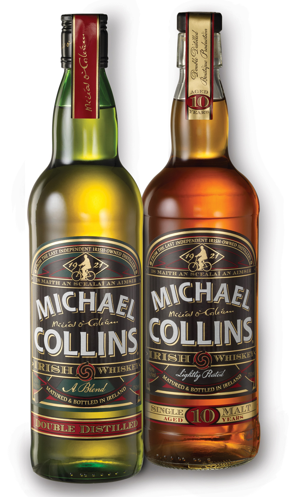 Michael Collins Launched 10 Years Old Single Malt Irish Whiskey
