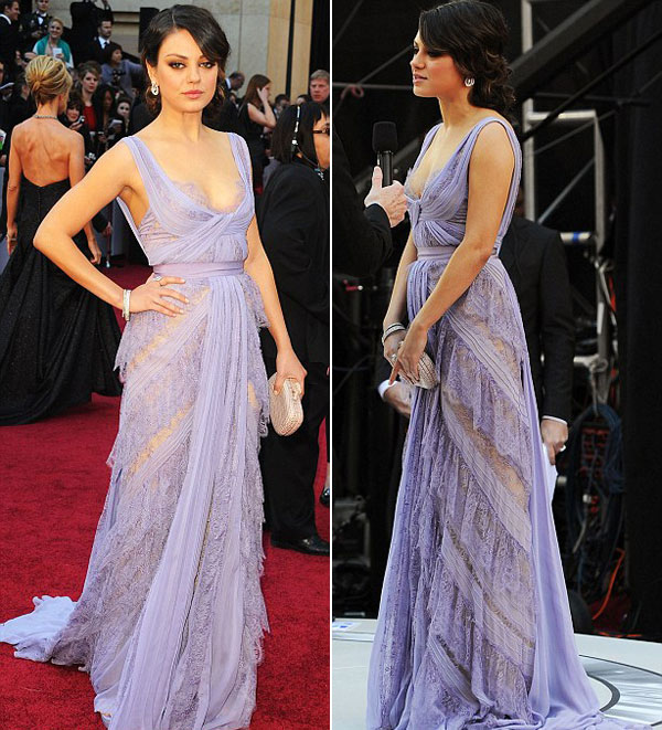 Mila Kunis at Oscar 2011