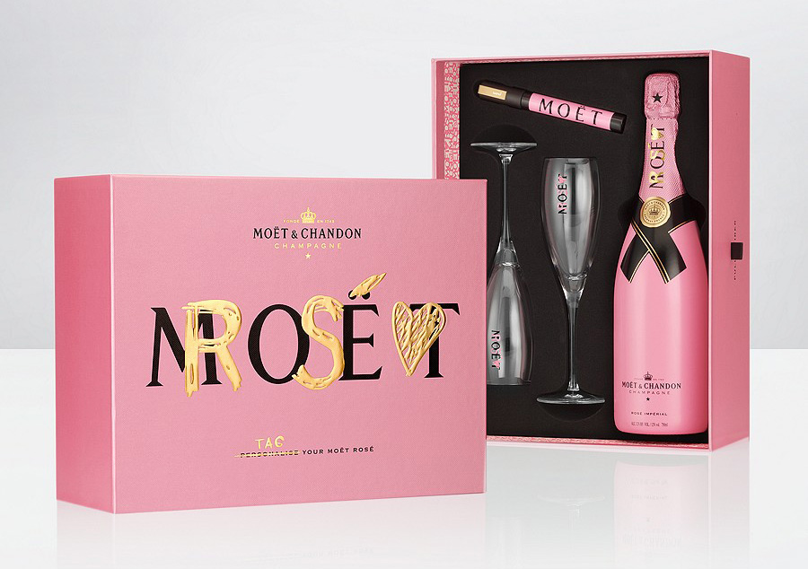 moet & chandon - infallible valentine's day gift set - extravaganzi, Ideas