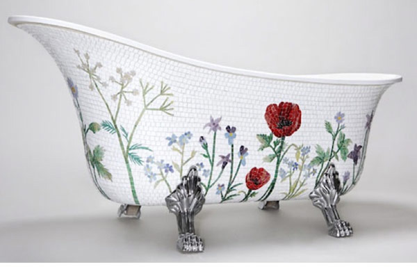 Mosaic Sweden Freestanding Bathtub