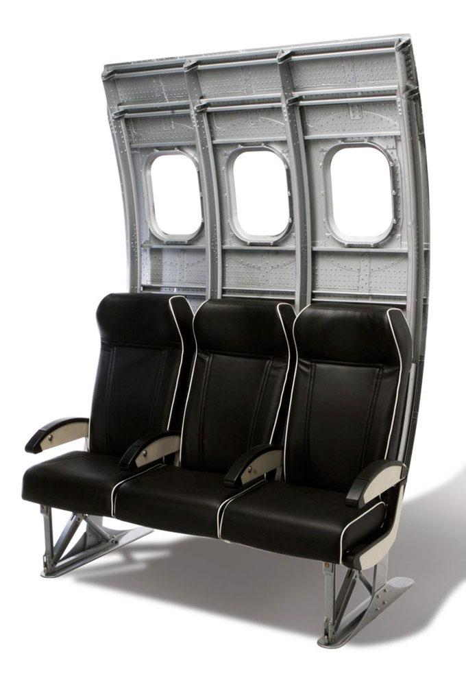MotoArt's Fuselage Bench Seating
