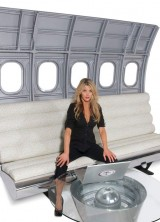 MotoArt's New Fuselage Bench Seating – Flying Experience On The Ground
