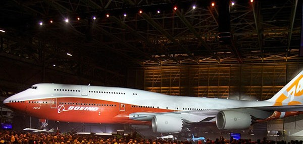 New Boeing 747-8 Intercontinental