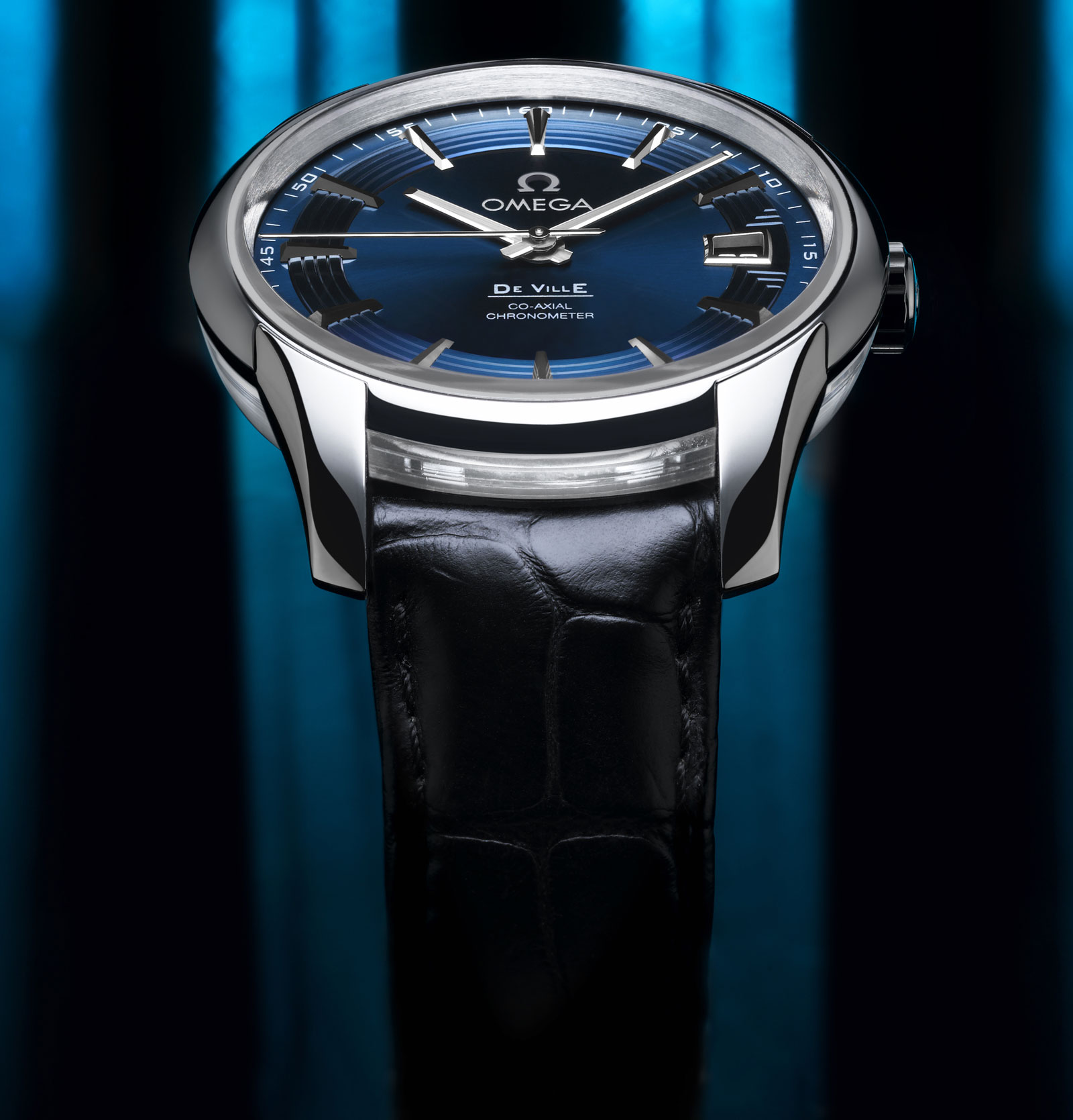 Omega Hour Vision Blue &#8211; Blue Vision Of Omega`s Watch