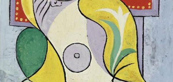 Pablo-Picasso's-painting-La-Lecture