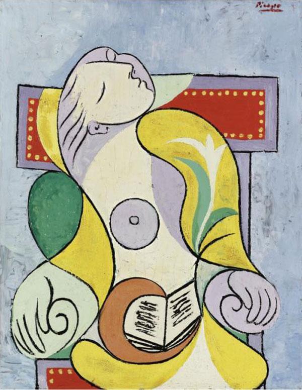"""Pablo Picasso's Painting """"La Lecture"""""""