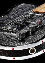 Rock-Royalty-KAGED-Alligator-Custom-Guitar-5