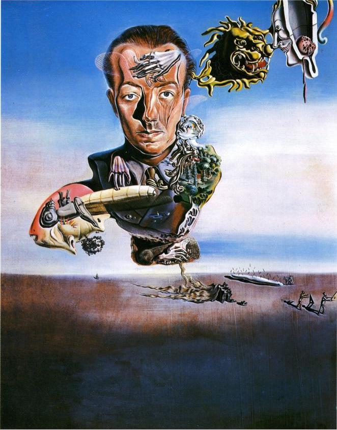 Salvador Dalí's Portrait de Paul Eluard