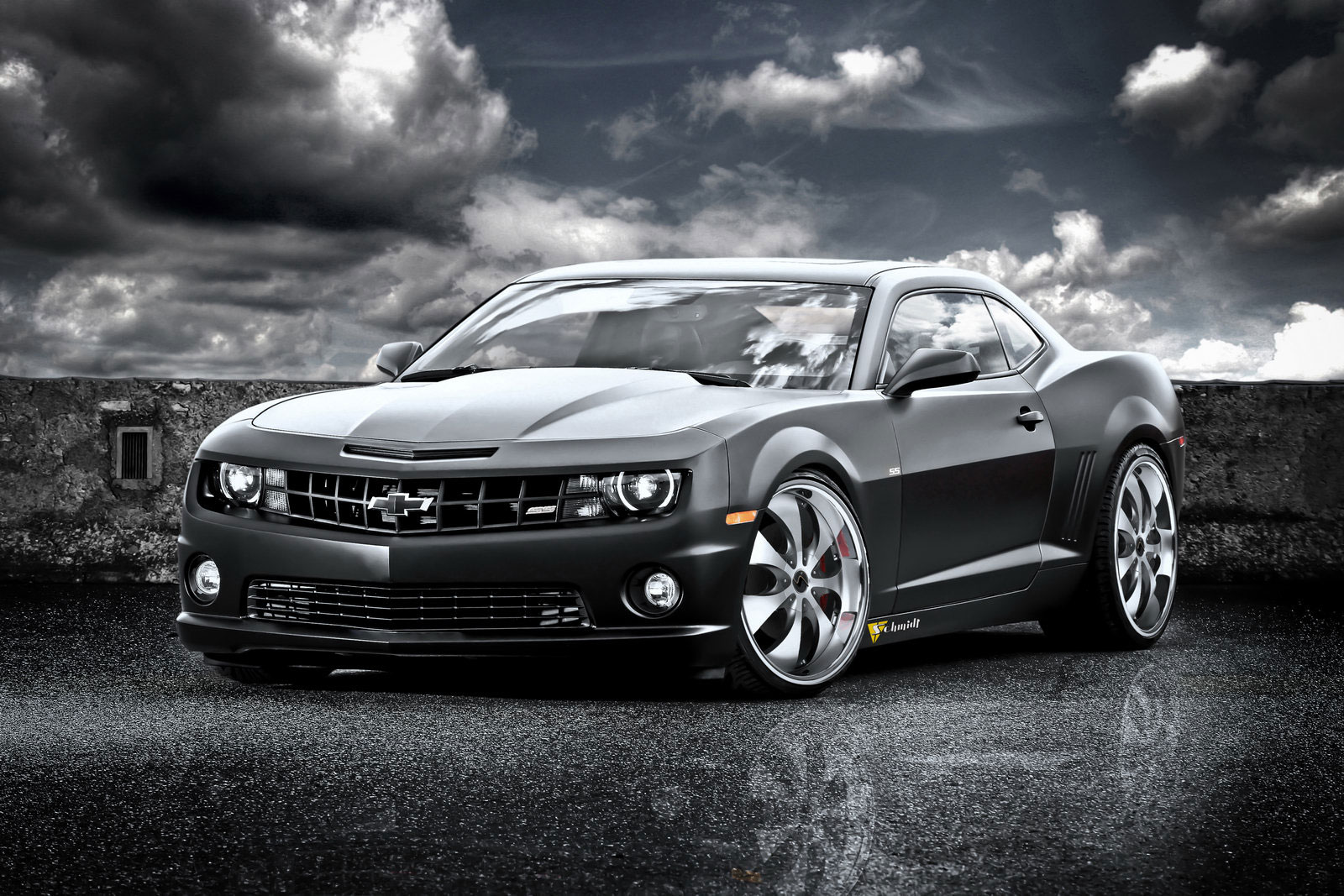 schmidt revolution 39 s 625hp supercharged chevrolet camaro ss extravaganzi. Black Bedroom Furniture Sets. Home Design Ideas